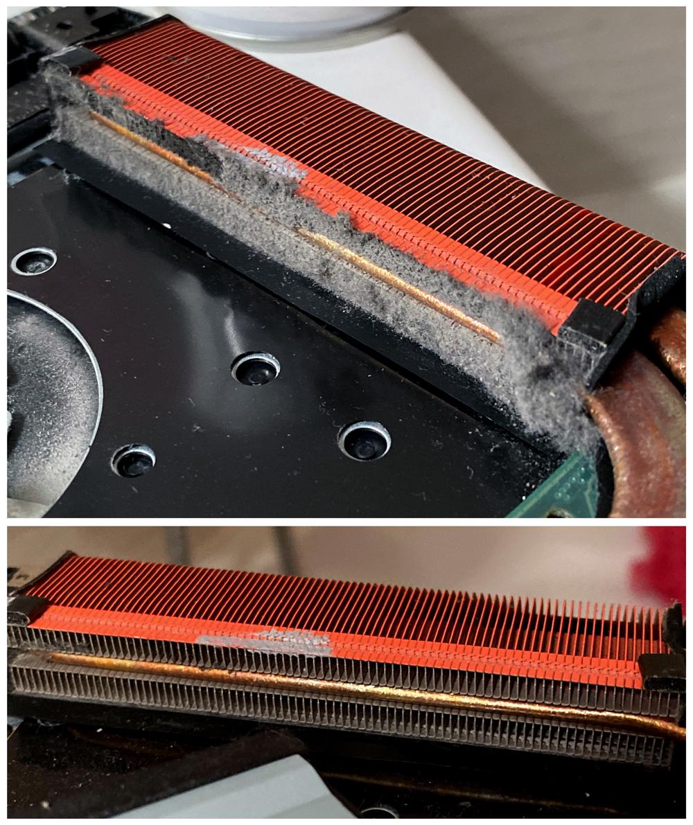 čištění notebooku od prachu