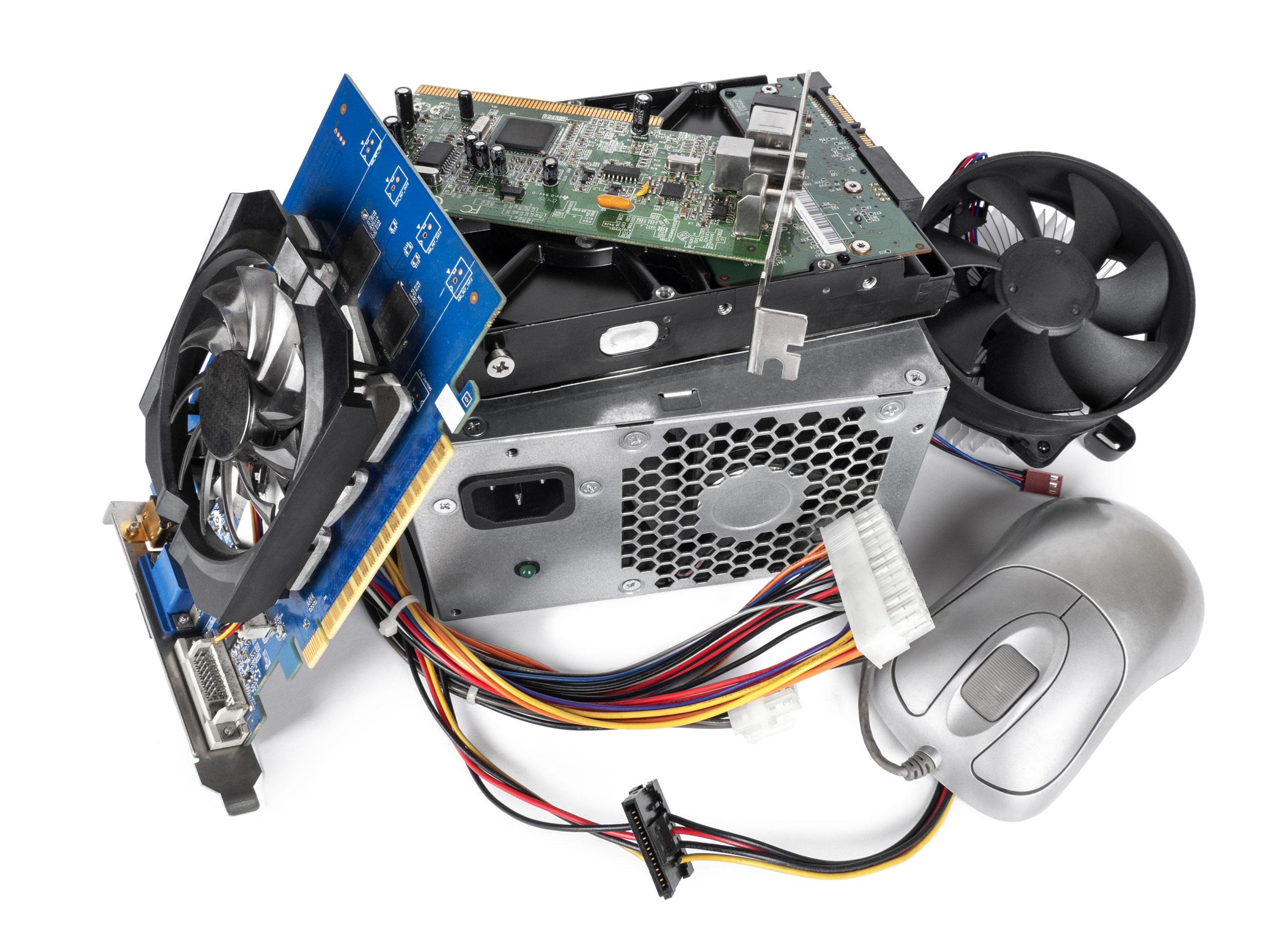 Ekologická likvidace počítačů a IT techniky